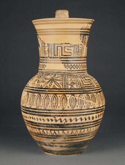 'Attic Geometric Oinochoe',  750 -700 B.C.