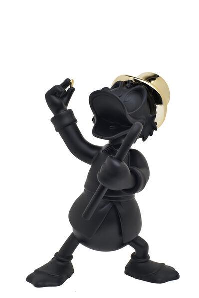 Leblon Delienne, 'UNCLE SCROOGE (black and gold)', 2021