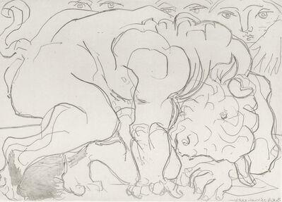 Pablo Picasso, 'Minotaure Blesse, VI', 1933