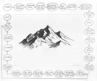 Analía Saban, 'Flowchart (Mountain)', 2020