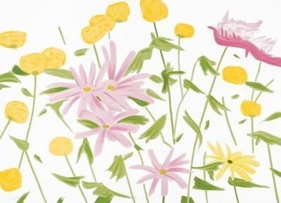 Alex Katz, 'Spring Flowers', 2017