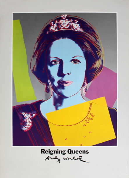 Andy Warhol, 'Queen Beatrix of the Netherlands, from Reigning Queens', 1986