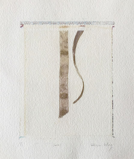 Hisun Wong, 'Ribbons', 2001