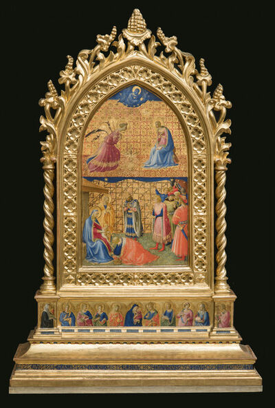 Fra Angelico, 'Annuciation and Adoration of the Magi ', 1424-1434