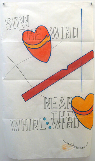 Lawrence Weiner, 'Sow the wind', 1996