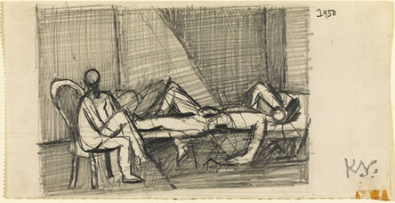 Keith Vaughan, 'Study for `Theseus and the Minotaur'', 1950