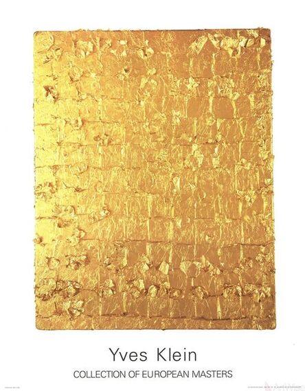 Yves Klein, 'Gold Leaf on Panel', 1995