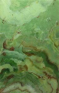 Vincent Olinet, 'Young ruins - onyx vert - CEL', 2015