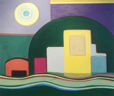 Erna Partoll, 'Green Dome', 2007