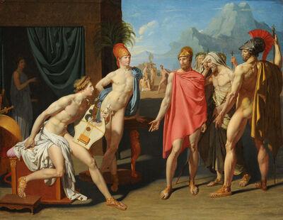 Jean-Auguste-Dominique Ingres, 'Achilles Receiving the Ambassadors of Agamemnon', 1801