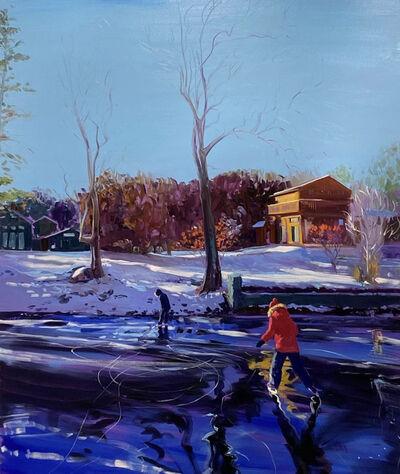 Sebastian Blanck, 'Black and Blue Ice', 2021
