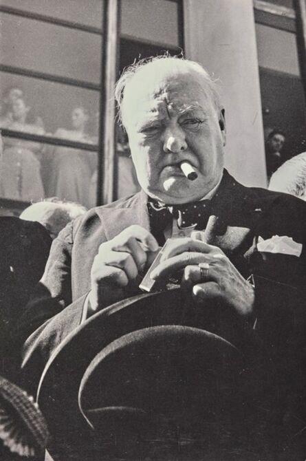 David Seymour, 'Churchill'