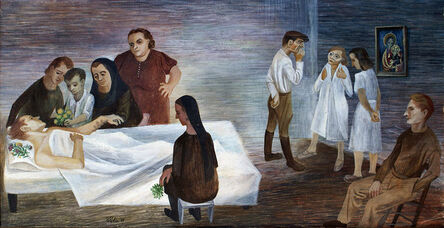 Bernard Perlin, 'The Recovery Room', 1944