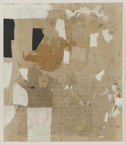 Alberto Burri, 'Bianco', 1952