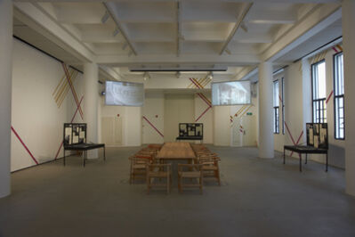 Michael Lin, 'Workers' Club - Dining Set', 2012