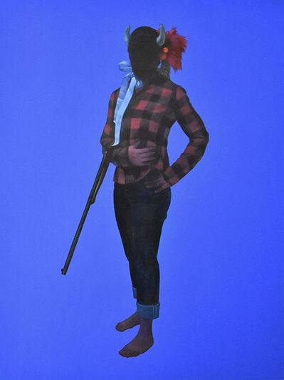 June Glasson, 'Buffalolady', 2020