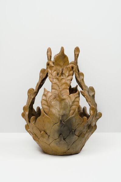 Eugene Von Bruenchenhein, 'Untitled (Brown vessel)'