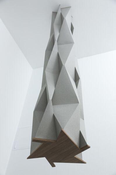 Francisco Rozas, 'Untitled, 2018, paper, wood, 200 x  Ø 38 cm', 2018