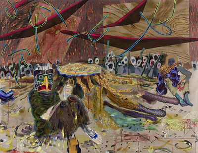 Melanie Daniel, 'Thunderbird and the 100 Year Old Pine', 2013