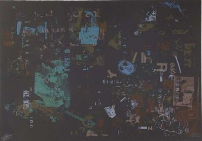 John Cage, 'Not wanting to say anything about Marcel (Lithograph)', 1969