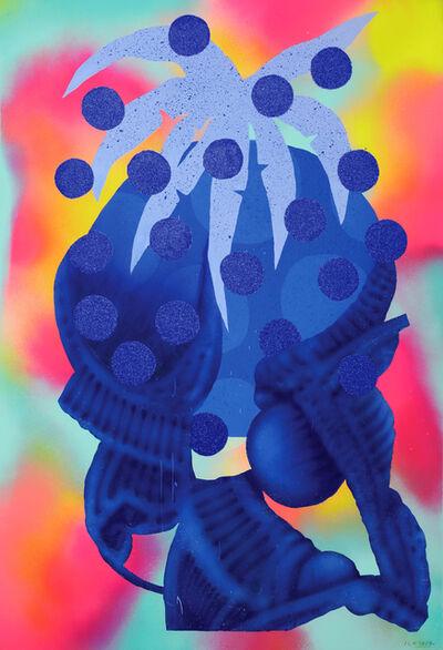 Ludovilk Myers, 'Blue Plants Pot 1', 2017