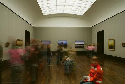 Michael Wesely, 'Lustgarten Berlin (16.43-16.48 Uhr, 8.6.2008)', 2008