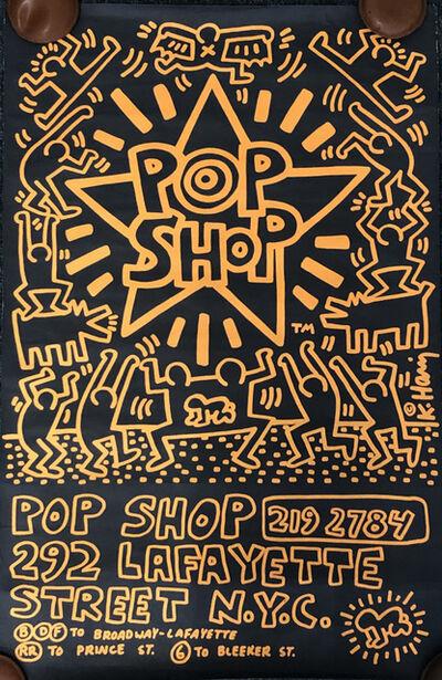 Keith Haring, 'Keith Haring Pop Shop poster 1986 (Keith Haring prints)', 1986