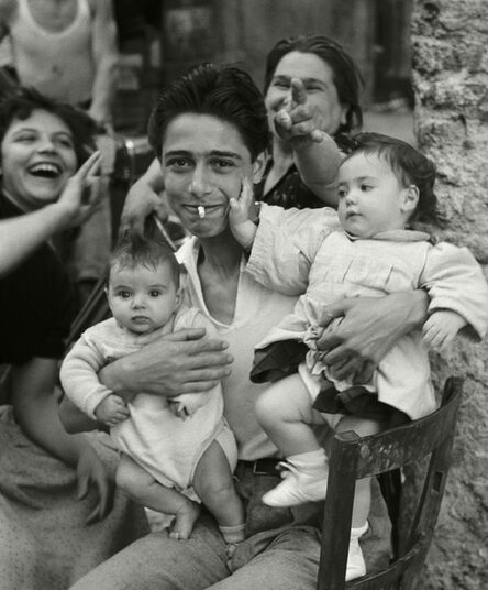 Herbert List, 'Trastevere, Italy', 1959