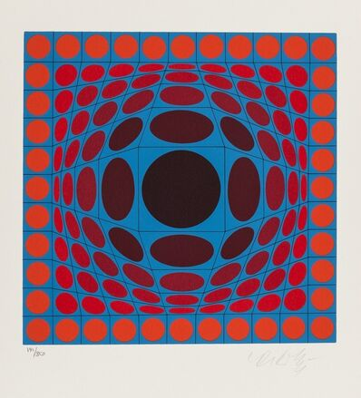 Victor Vasarely, 'Ive', c. 1970