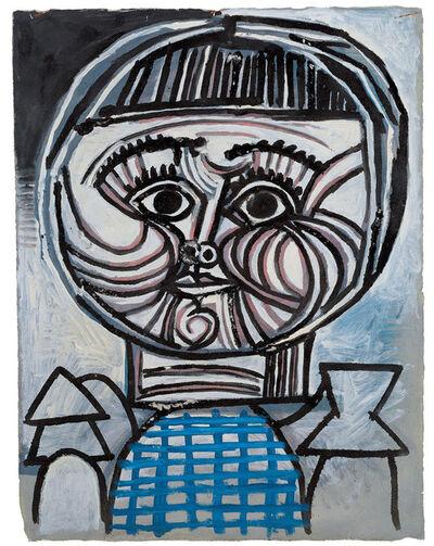 Pablo Picasso, 'Portrait d'enfant: Paloma', 1952