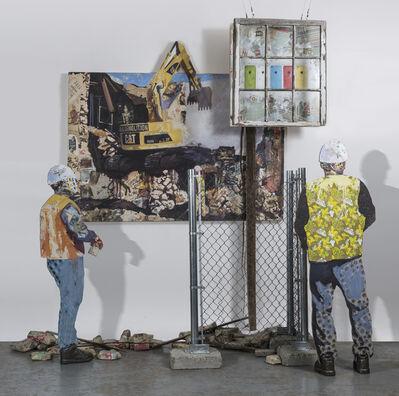 Allison Belliveau-Proulx, 'Demolition (Construction Workers)', 2018