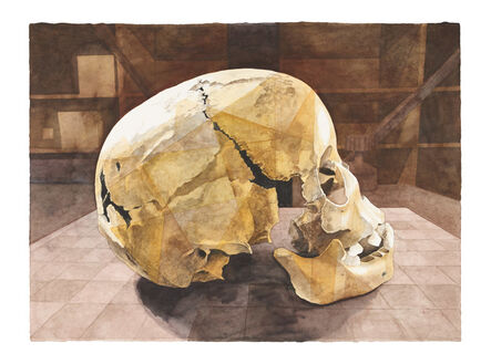 Walter Oltmann, 'Child Skull II', 2015
