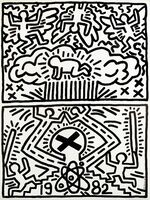 Keith Haring, 'Keith Haring 1982 Nuclear Disarmament poster ', 1982