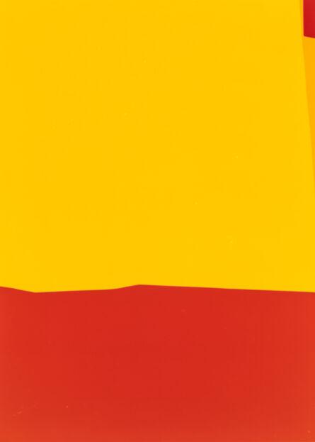 Frank Mädler, 'Gelb, Rot, oben rechts Rot', 2020