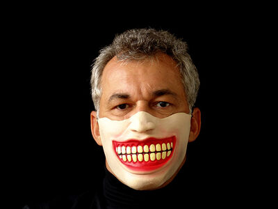 Marcos Chaves, 'Laughing mask', 2005