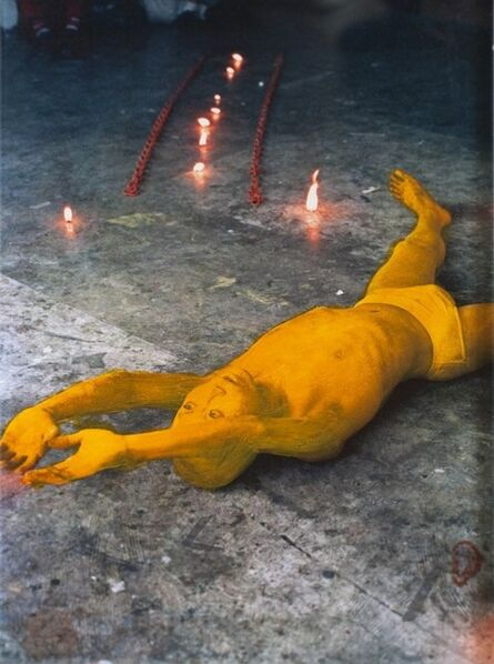 Lee Wen, 'Yellow on Yellow: Journey of a Yellow Man', 1992-2012