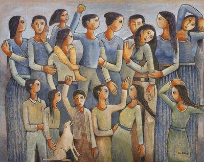 Nabil Anani, 'Demonstration #3', 2016