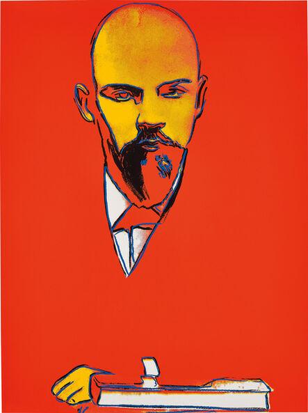 Andy Warhol, 'Red Lenin', 1987