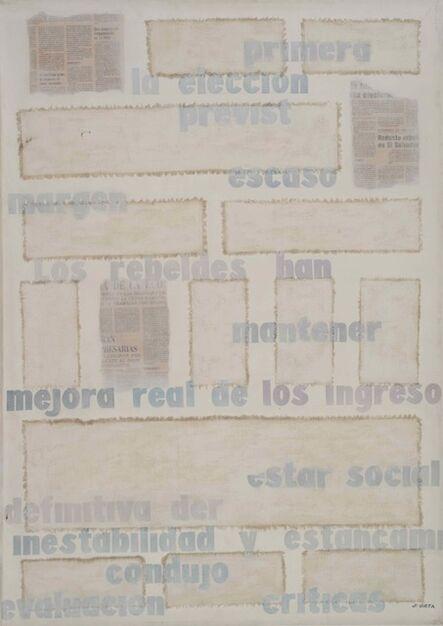 Jorge Orta, 'Untitled', ca. 1978