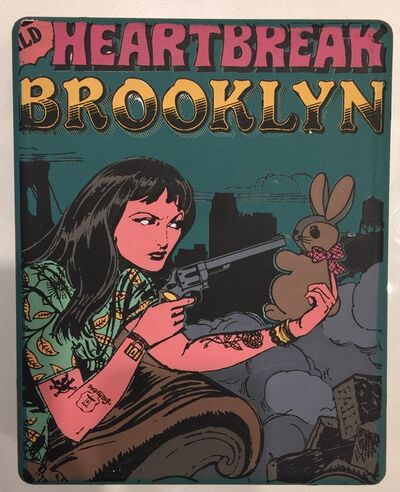 FAILE, 'Heart break in Brooklyn', 2012