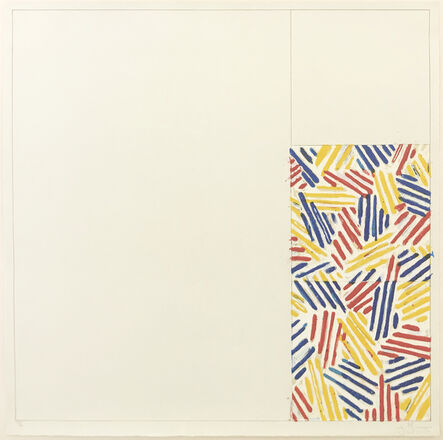 Jasper Johns, '#4, FROM 6 LITHOGRAPHS (AFTER UNTITLED 1975)', 1976