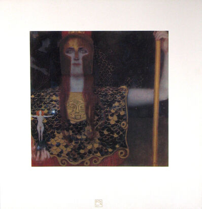 Gustav Klimt, 'Pallas Athena [Das Werk Gustav Klimts]', 1908-1914