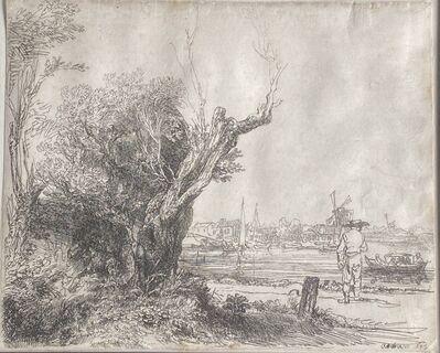 """Rembrandt van Rijn, '""""The Omval""""', 1645"""