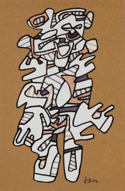 Jean Dubuffet, 'Personnage', 1972