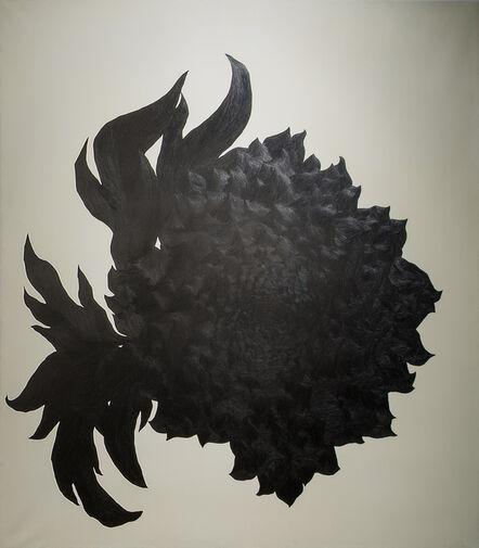 Eun Ju Kim, 'Then I quietly draw a flower', 2012