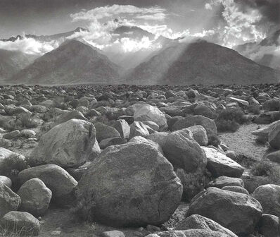 Ansel Adams, 'Mount Williamson, Sierra Nevada, from Manzanar, CA', 1944