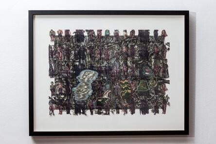 Yvonne Crossley, 'Walled In, No 4', 2016