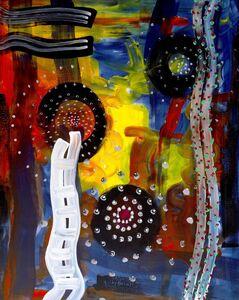Peter Wayne Lewis, 'False Vacuum #1', 2015