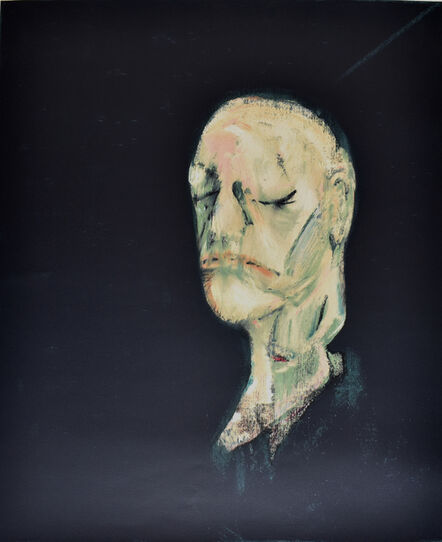 Francis Bacon, 'Study of a Portrait II, after the Life Mask of William Blake', 1991