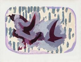 Georges Braque, 'Oiseaux VII', 1962